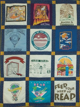 Summer Reading Quilt by Folded Frenzies