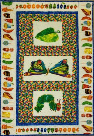 Eric Carle Quilt by Folded Frenzies