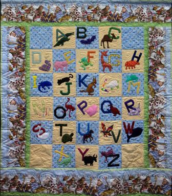 Alphabet Quilt by Folded Frenzies