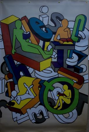 Wall-Mural-by-Glenwood-High-School-Senior-Art-Students