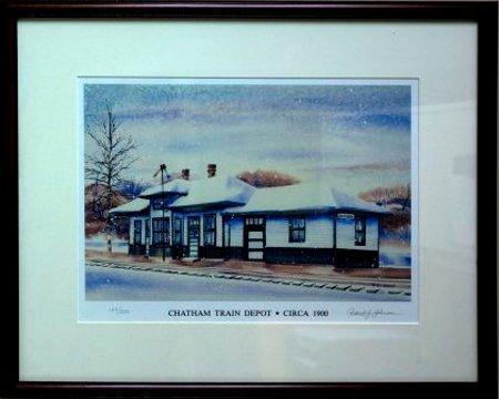 Chatham Train Depot by Robert Johnson
