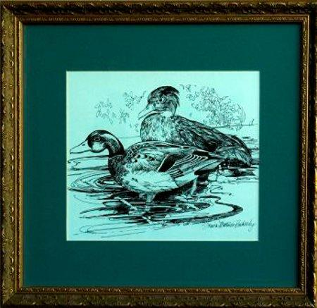 Mallards by Louisa Boshardy