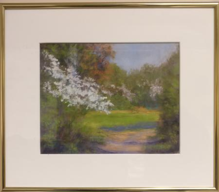 Spring Morning Lincoln Memorial Gardens by Mary Lou Hicks