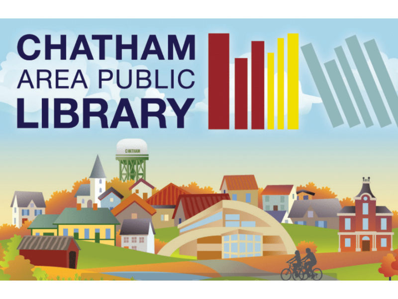 Image of a Chatham Area Public Library Card