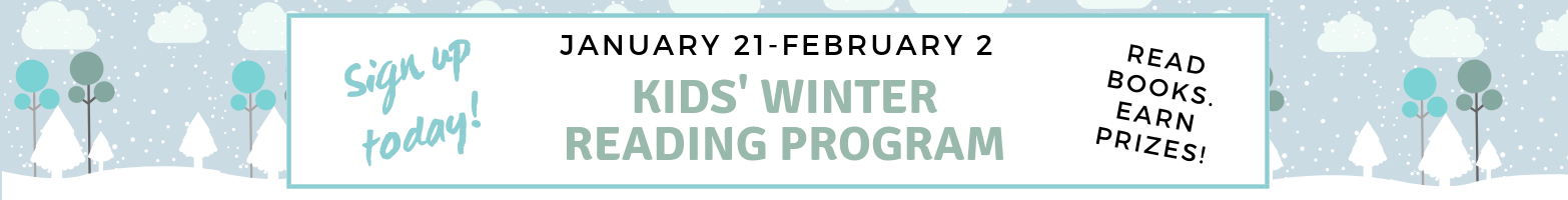 2019 Kid's Winter Reading Program